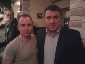 Mihai si Victor Becali