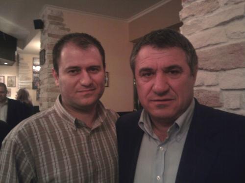 Laurentiu si Victor Becali