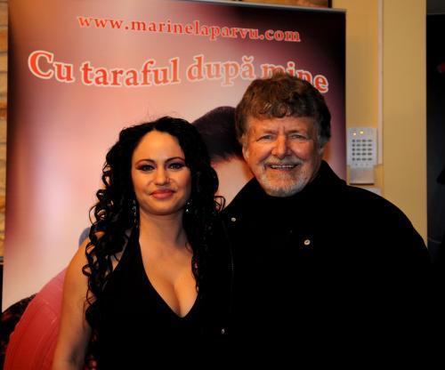 Marinela Parvu si compozitorul Jolt Kerestely_LANSAREA Albumului CU TARAFUL DUPA MINE