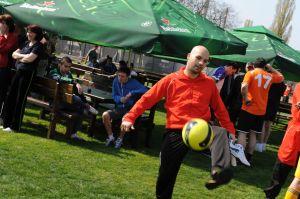 Andrei Stefanescu ALBNEGRU se antreneaza pentru marele meci