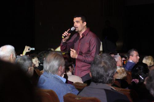 AURELIAN TEMISAN in recital la SALA PALATULUI