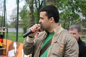 Aurelian Temisan la Festivitatea de Premiere Cupa OASIS VIP&MEDIA