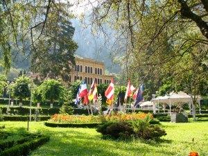 Baile Herculane-parcul