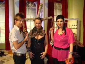 Florin Hentz, Carmen Plesea si Adriana Bahmuteanu