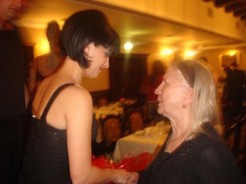 Olimpia Zica si mama lui Carmen Plesea