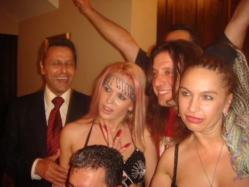 Ilie Marinescu, Shakira Fachira, Carmen Plesea si Yilmaz Bustani