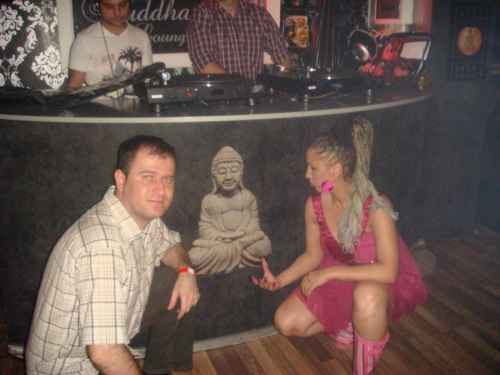 Carmen Plesea, Buddha si Laurentiu Pintoi