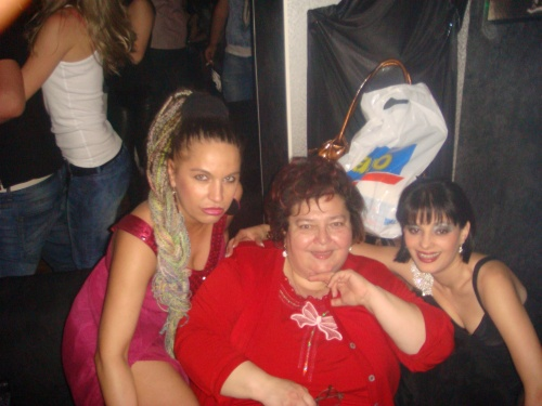 Carmen Plesea, actrita Doina Ghitescu si Olimpia Zica