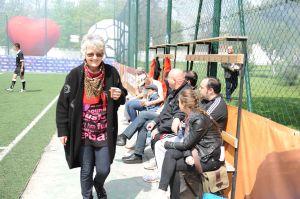 Interpreta EVA KISS invitat special la Cupa OASIS la Minifotbal