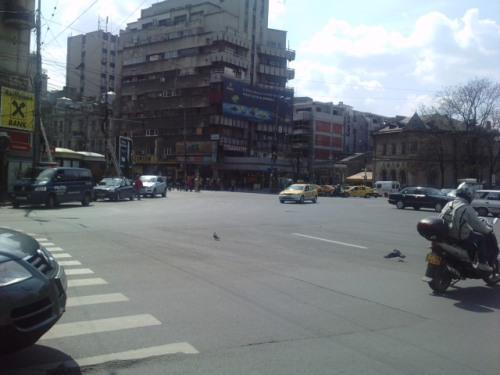 Intersectie Piata Romana