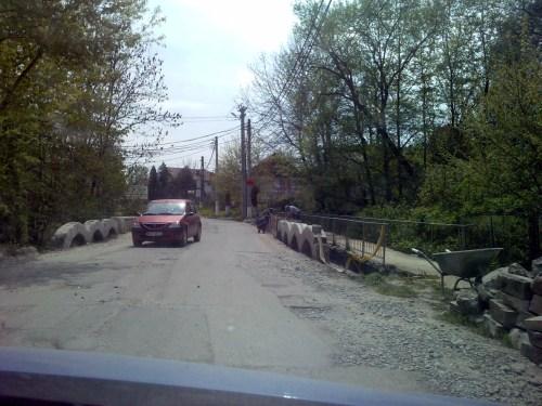 Drum principal in Breaza