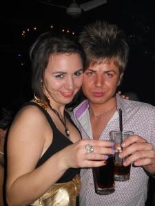 Hentz in club in Arad