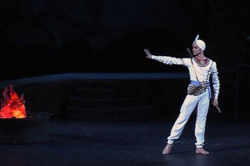 DMITRY GUDANOV rolul SOLOR in BAYADERA