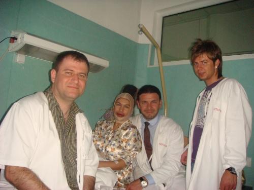 In vizita la spital