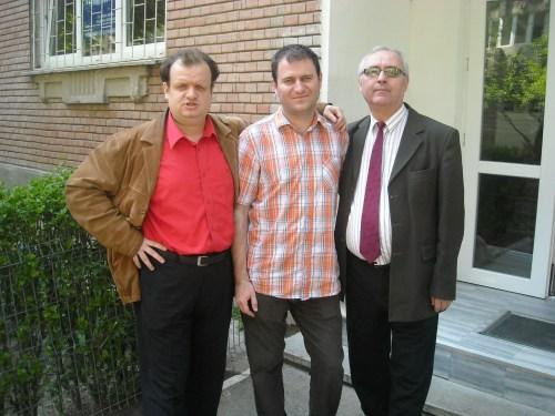 Puiu, Laurentiu Pintoi si tatal Georgianei (domnul Vasile)