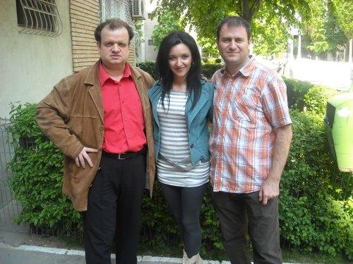 Puiu, Georgiana Lapadat si Laurentiu Pintoi