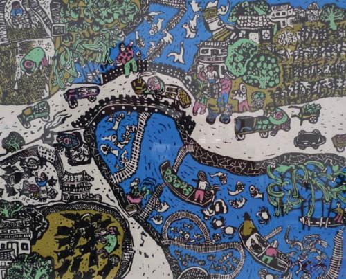 Pictură ţărănească din China (1)