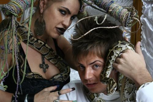 Carmen Plesea si Florin Hentz