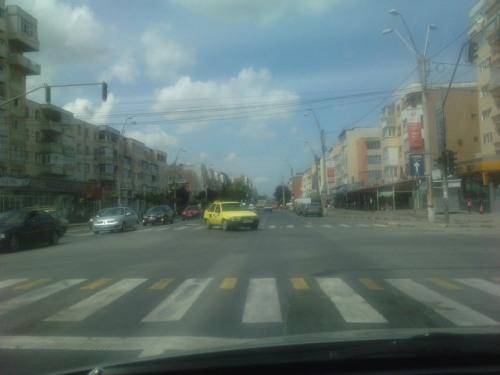 Intersectie in Bacau
