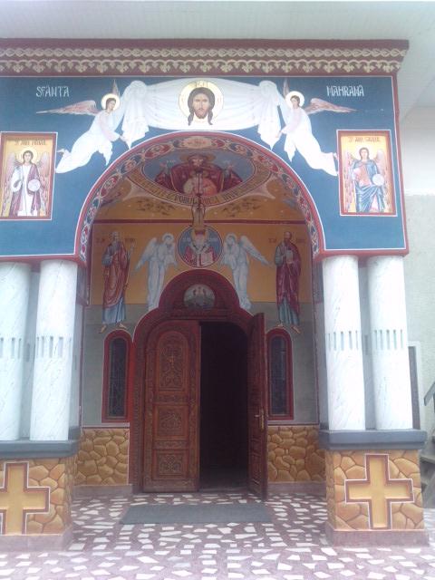 Intrare in biserica