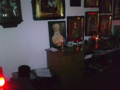 Interior chilie Manastire