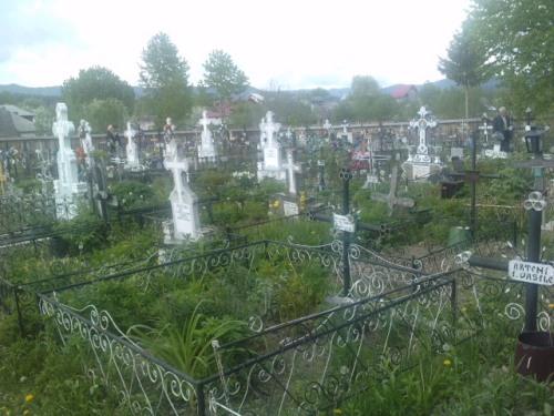 Cimitirul comunei Rîsca
