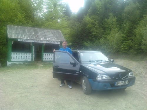 Laurentiu cu masina