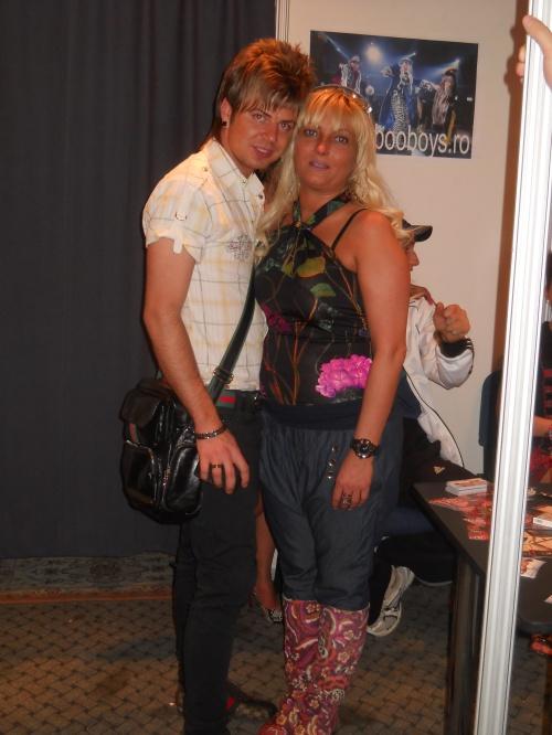 Florin Hentz si Bogdan Claudia (manager Taboo Dreams - str. Caderea Bastiliei nr.45)