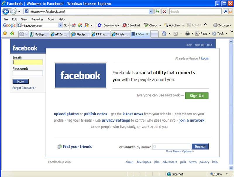 Atentie la facebook