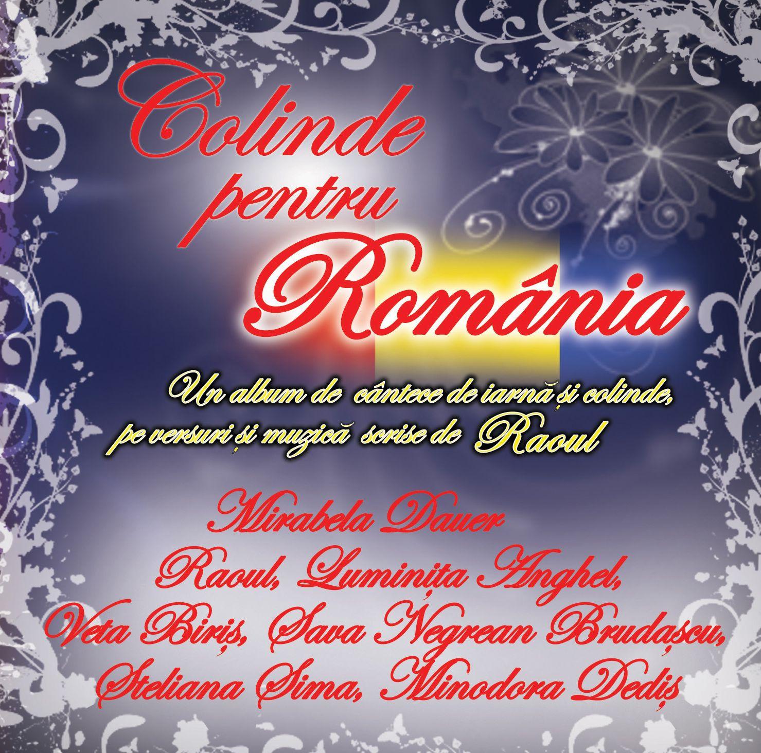 coperta fata COLINDE PENTRU ROMANIA